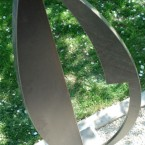 Stahlobjekt, Größe: 96 cm