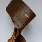 Luzifer , Stahlskulptur, H:B: 75 x 25 cm.
